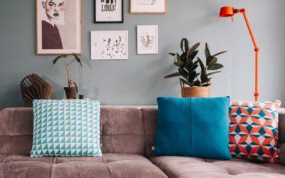 Beursbezoeken, nieuwe meubelen en voorjaarscollecties