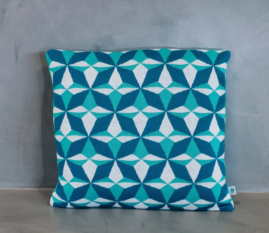 cushion+lisboa+blue