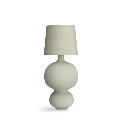 Lamp balustre dusty green