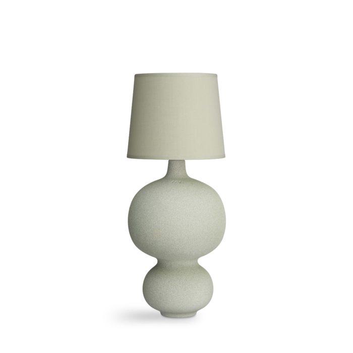 Lamp balustre dusty green